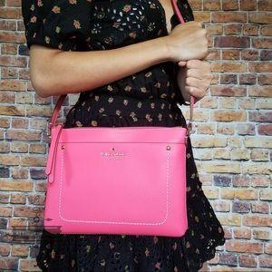 Kate spade Thompson Street Tatum flamingo bag